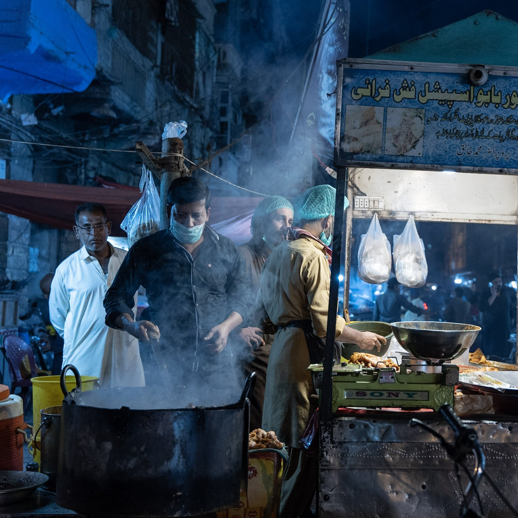 pakistani street food